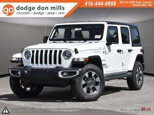 2018 Jeep Wrangler Unlimited Sahara - 2.0T - 8 speed - cold weat