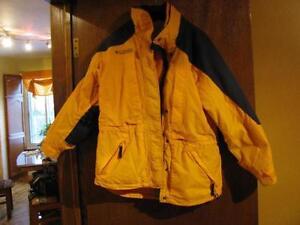 Manteau Hiver Columbia Jaune et Noir