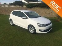 VOLKSWAGEN POLO 1.2 MATCH EDITION 3d 59 BHP perfect example, just (white) 2013
