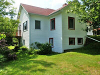 910 Chartersville Dieppe,privacy close town, 1 acre treed 5 bdrm