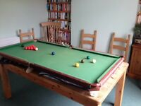 Snooker Table or Pool Table 6ft x 3ft