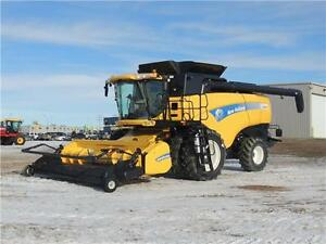 12 New Holland CX8080 Super Conventional Combine 24 MOS INT FREE