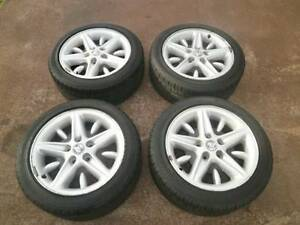 HOLDEN COMMODRE VT SS ALLOY MAG WHEELS + TYRES Campbelltown Campbelltown Area Preview