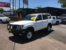 2003 Toyota Landcruiser HZJ105R (4x4) White 5 Speed Manual 4x4 Wagon Edgeworth Lake Macquarie Area Preview