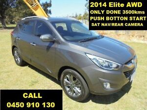 2014 Hyundai ix35 LM Series II Elite (AWD) Grey 6 Speed Automatic Wagon Wangara Wanneroo Area Preview