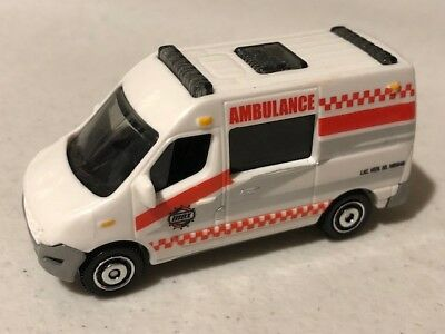 Matchbox Renault Master Ambulance, White, Loose, Very NICE, 1/64