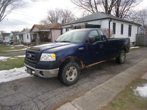 2008 Ford F150 Ext. Cab 4x4…$2650.00