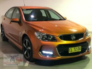 2017 Holden Commodore VF II MY17 SV6 Orange Sports Automatic Sedan Campbelltown Campbelltown Area Preview