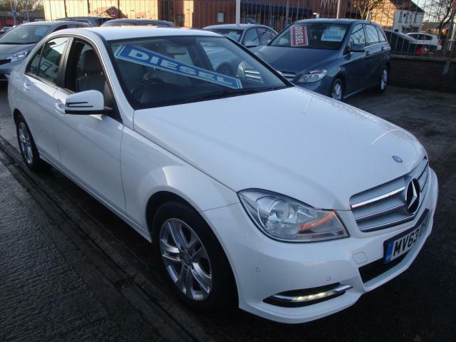 63 MERCEDES C220 CDI EXECUTIVE SE DIESEL *LEATHER* £20 ROAD TAX