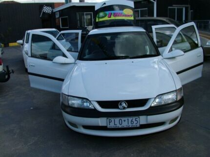 1998 Holden Vectra JS CD 4 Speed Automatic Hatchback