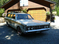 1965 Mercury 9 passenger station wagon