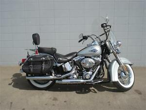2011 Harley Davidson Heritage Softail Classic Silver