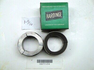 "Hardinge S22 Collet Pad Set 1-3//16/"" Round Smooth Good"