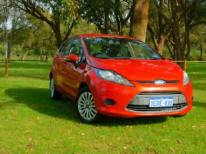 2013 Ford Fiesta WT LX PwrShift Orange 6 Speed Automatic Hatchback Rockingham Rockingham Area Preview