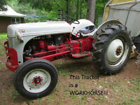 Yard Clearing Auction Sale Sat. July 18.14..Tractor+