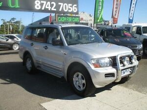 2001 Mitsubishi Pajero NM Exceed LWB (4x4) Silver 5 Speed Manual Wagon Hoppers Crossing Wyndham Area Preview