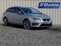 Seat Leon 1.4 EcoTSI 150 FR 5dr [Technology Pack] (silver) 2016