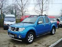2006 NISSAN NAVARA 2.5dCi Double Cab Pick Up Outlaw 4WD Auto