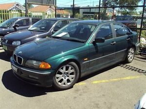 1999 BMW 318I E46 Green 5 Speed Manual Sedan Punchbowl Canterbury Area Preview