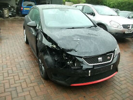 2013 Seat Ibiza 1.6TDICR SportCoupe FR SALVAGE DAMAGED REPAIRABLE DRIVES