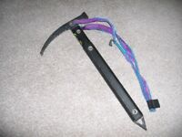 Cassin ice axe with strap