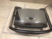Breville smooth plate double sandwich toaster, chrome finish, excellent condition