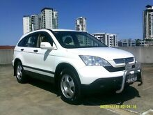 2008 Honda CR-V MY07 (4x4) White 5 Speed Automatic Wagon Southport Gold Coast City Preview