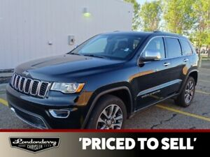 2018 Jeep Grand Cherokee 4X4 LIMITED               HEATED LEATHE