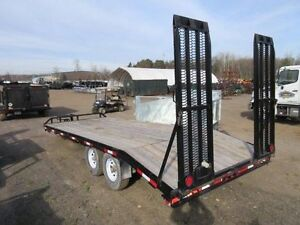 Used 2011 7 Ton Deckover Float