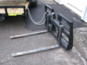 Horst Quick Attach Forks - 2000 & 4200 Lbs Capacity