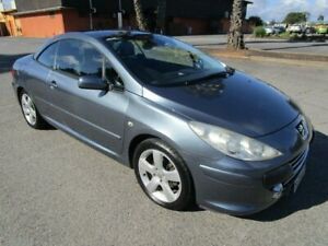 2007 Peugeot 307 MY06 Upgrade CC Dynamic 4 Speed Tiptronic Cabriolet Clearview Port Adelaide Area Preview