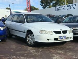 2001 Holden Commodore VX Executive White 4 Speed Automatic Wagon East Victoria Park Victoria Park Area Preview