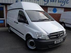 2014 14 MERCEDES-BENZ VITO 2.1 113 CDI BLUEEFFICIENCY 1D 136 BHP DIESEL