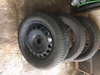 3 OF 205/55R16 radial tyres ABSOLUTE BARGAIN be quick!