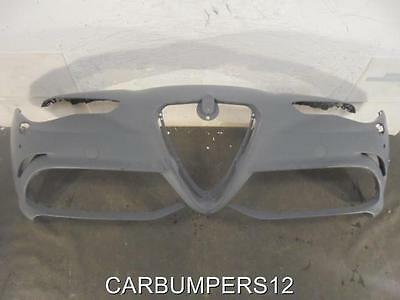 ALFA ROMEO GIULIA QUADRIFOGLIO FRONT BUMPER 2017 ONWARDS GENUINE ALFA PART B4