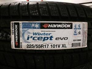 Hankook I cept evo winter tires 225/55R17 ON SALE City of Toronto Toronto (GTA) Preview