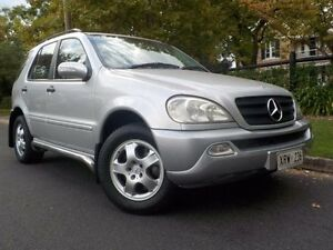 2003 Mercedes-Benz ML W163 270 CDI Luxury (4x4) Silver 5 Speed Auto Tipshift Wagon Manningham Port Adelaide Area Preview