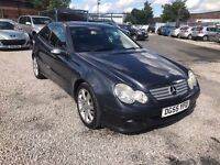 2005 Mercedes-Benz C Class 2.1 C220 CDI SE 2dr 1PREV OWNER+AUTO+FULL LEATHER