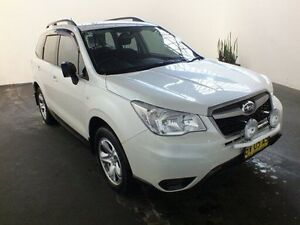 2014 Subaru Forester MY13 2.5I White Continuous Variable Wagon Clemton Park Canterbury Area Preview