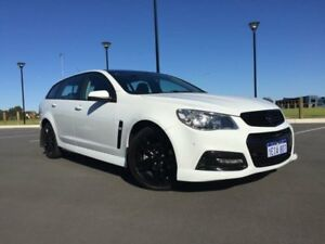 2013 Holden Commodore VF SV6 Heron White 6 Speed Automatic Sportswagon Beckenham Gosnells Area Preview