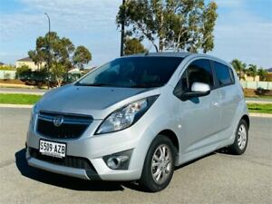 2013 Holden Barina TM MY13 CD Silver 6 Speed Automatic Hatchback Mawson Lakes Salisbury Area Preview