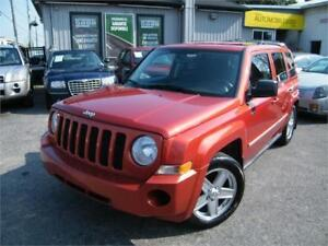 2010 Jeep Patriot Sport . MANUELLE 94,835 KM 4x4