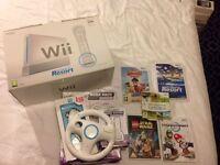 Nintendo Wii Bundle Incl Mariokart Wii
