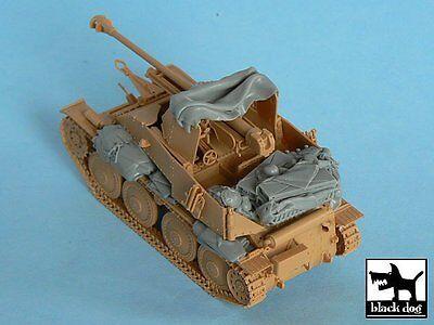 - Black Dog 1/48 Marder III German Tank Destroyer WWII Accessories (Tamiya) T48045