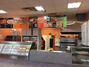 BUSY PIZZA NEXT TO SCHOOL! MUST SELL! NO FRANCHISE FEE!!