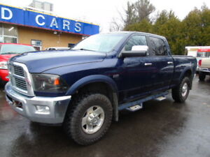 2012 Ram 2500 4x4 Power Wagon,Laramie,Nav,DVD,Warn Winch!!