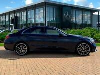2019 Mercedes-Benz C Class C200 Amg Line Premium 4Dr 9G-Tronic Auto Saloon Petro
