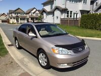 2003 Toyota Corolla LE - NO ACCIDENT BC CAR + WELL MAINTAINED!!!