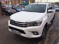 TOYOTA HILUX Invincible D/Cab Pick Up 2.4 D-4D Auto (white) 2016