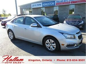 2015 Chevrolet Cruze 1LT, Low kms, Bluetooth, Back up camera